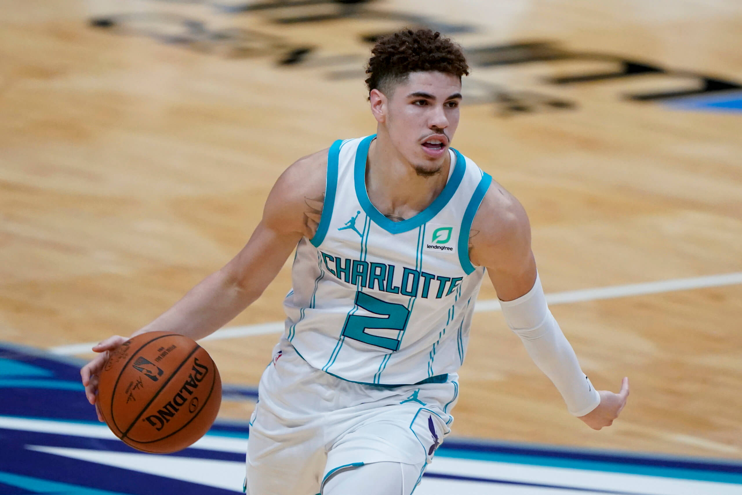 charlotte-hornets-lamelo-ball-triple-double