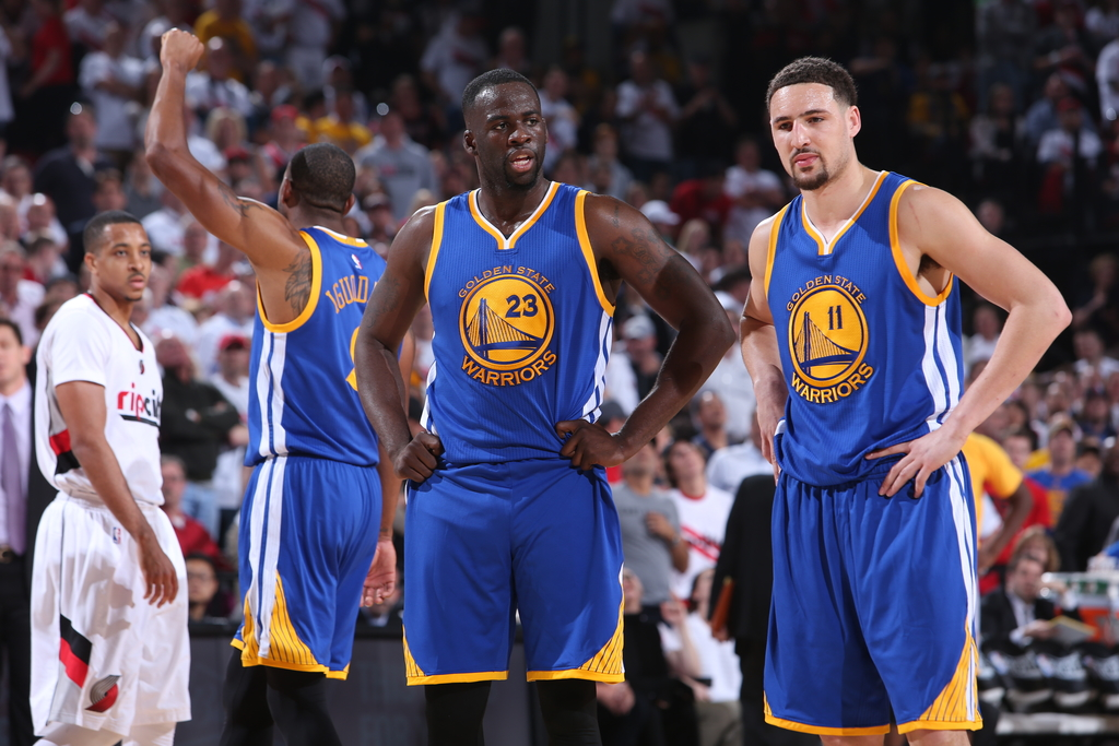 draymond-green-klay-thompson-golden-state-warriors-nba